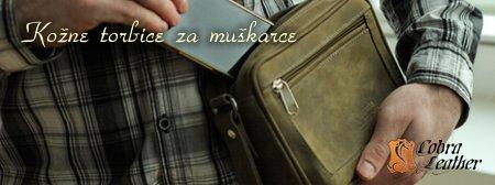 Kožne torbice za muškarce
