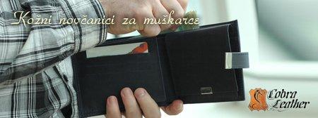 Kožni novčanici za muškarce